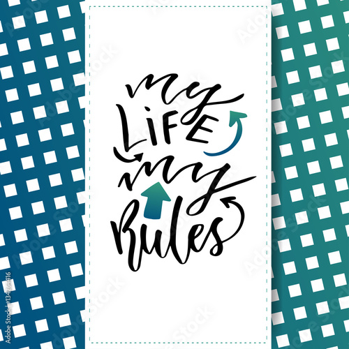 Quot inspirational and motivational handwritten lettering