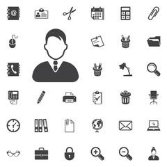 Vector man profile Icon