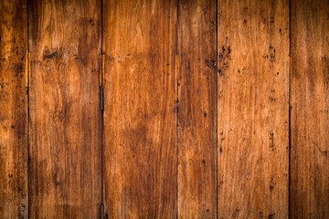 vintage wood door wooden board background.