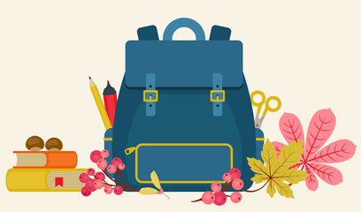 School vector illustration.