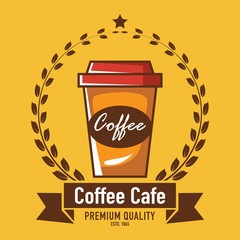 Cafe logo, Restaurant logo