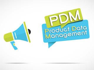 megaphone : PDM