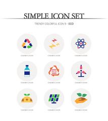 eco Simple Icon Set