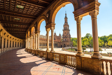Spanish Square in Sevilla