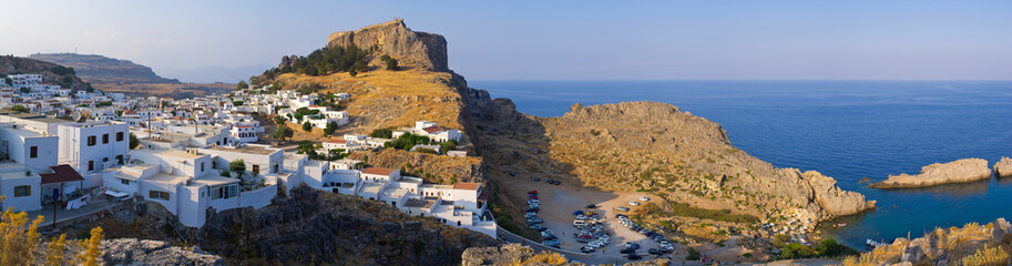Lindos town, Rhodes island, Greece