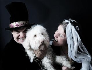 Vampire mit Hund – Fasching