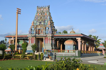 Foto op Canvas Temple Sri Siva Subramaniya temple in Nadi, Fiji