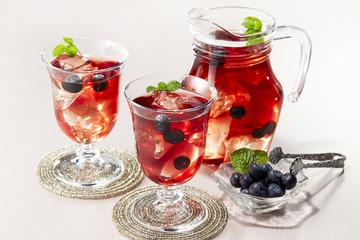 アイスブルーベリーティー (Blueberry Tea)