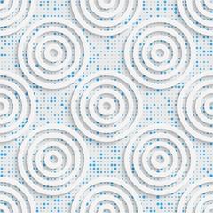 Seamless Circle Pattern. Vector Abstract Modern Design