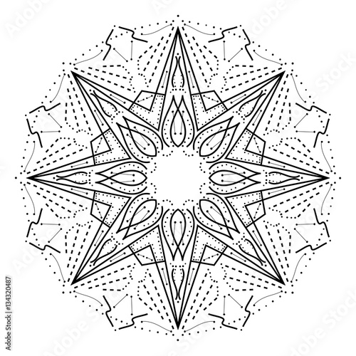 intricate geometric coloring pages - photo#7