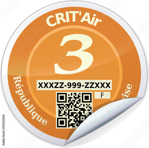 sticker crit 39 air orange 3 reflet m tal stock image and royalty free vector files on fotolia. Black Bedroom Furniture Sets. Home Design Ideas