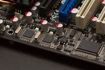 The motherboard and its filling