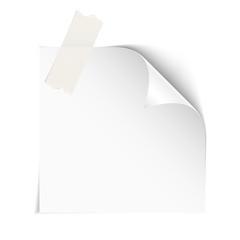 Paper on white
