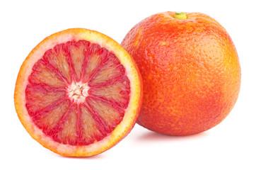 Bloody orange and half