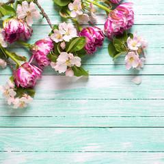 Spring background.