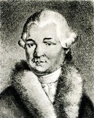 Anton Schweitzer, German composer (Heinrich Eduard Winter, 1816)
