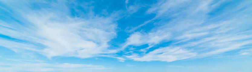 Keuken foto achterwand Hemel cirrus clouds in Sardinia