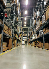 Warehouse. logistics and freight forwarding