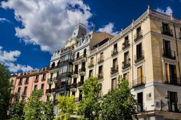Madrid, Sanierte Altbauten