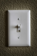 Light Switch for Tunring on or off Power Electricity