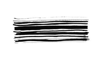 Black ink design element