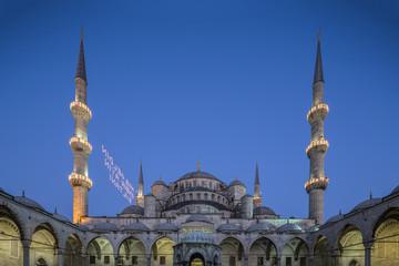 Sultanahmet Mosque in Istanbul, Turkey