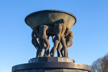 Sculptures in the Vigeland Park