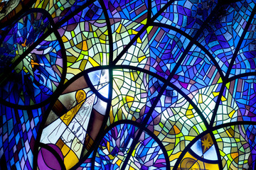 church window, stained glass