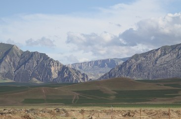 Beautiful landscape in Afghanistan