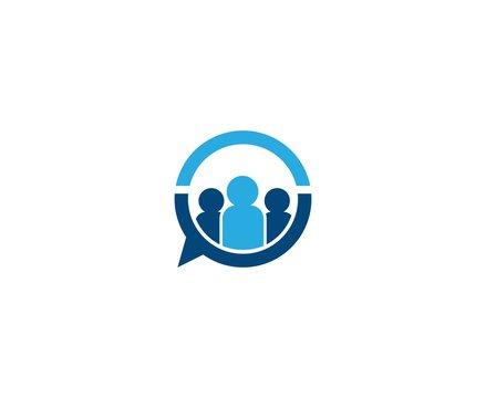 Business people logo