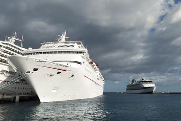 Docking In Cozumel