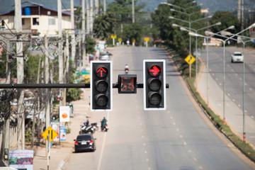 traffic light .