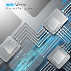 Technical abstract background