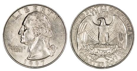 quarter dollar USA Fototapete