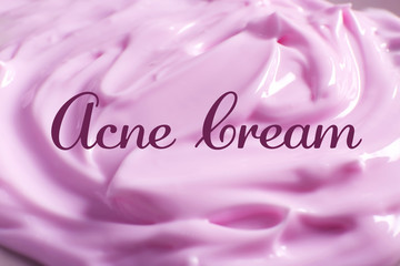 Fantastisch Beauty And Skin Care Concept. Acne Medication Cream, Closeup