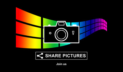 Pictures sharing concept