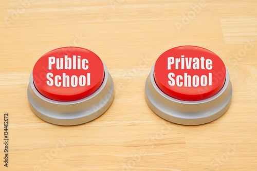 differences and similarities between public and private schools