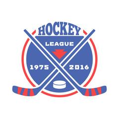 Hockey label vector.