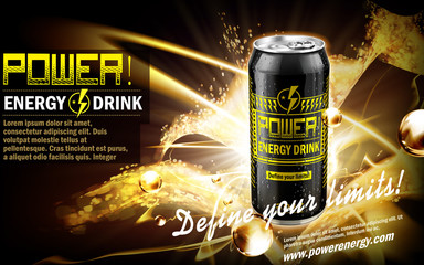 power drink black