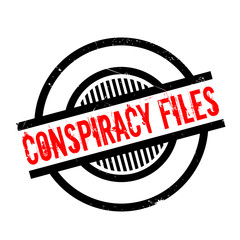 Conspiracy Files rubber stamp