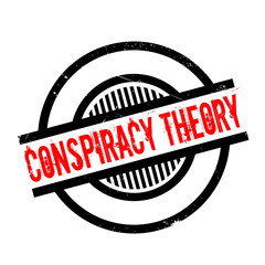 Conspiracy Theory rubber stamp