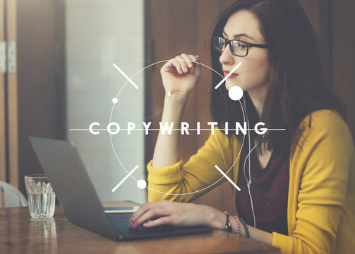 CopyWriting Advertisement Commercial Marketing Business Concept