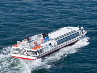 東京港を走る水上バス