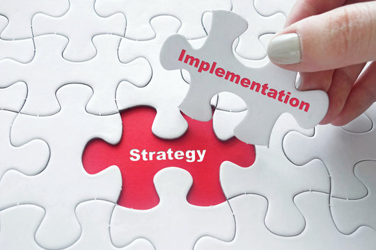Strategy Implementation on jigsaw puzzle