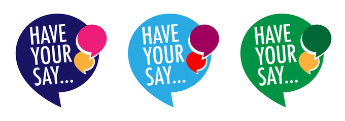 Have your say !