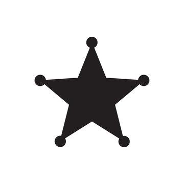sheriff icon illustration