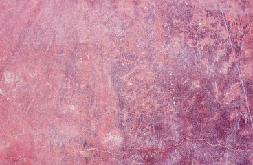 violet painted scratched concrete background