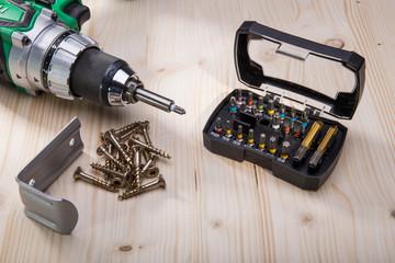 Werkzeug Bitsortiment mit Spezialbits für Torx TTAP Schrauben