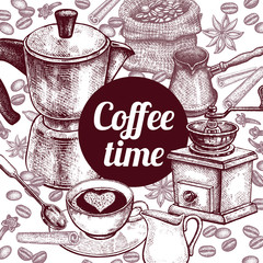 "Poster ""Coffee Time""."