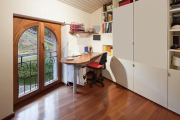 Interior of apartment, office room